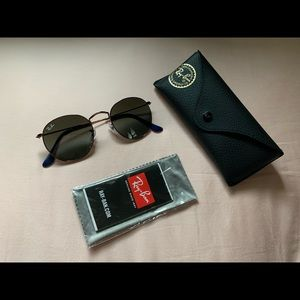 Round Metal Ray-Ban Sunglasses
